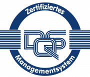 Siegel für zertifiziertes Managementsystem